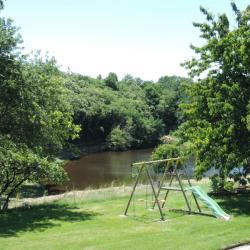 Vue sur un étang