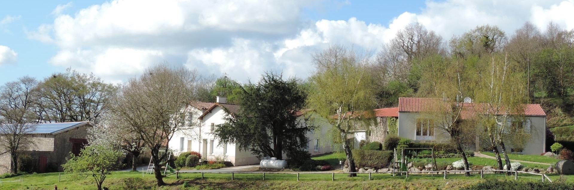 Jardin partagé - Gîtes de la Grimaudière